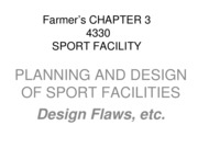 SMGT 4330 Farmer Chapter 3 Design Flaws Study Notes