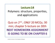 MTE 380 Lectures 14-16
