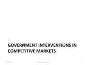9 Government Interventions