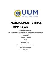 MANAGEMENT-ETHICS-Assignment-1