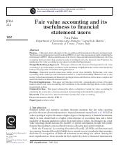Fair value accounting and its usefulness to financial statement users.pdf
