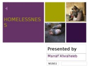Presentation homeless1