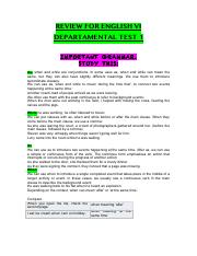 STUDYGUIDE_FOR_ENGLISH VI TEST 1