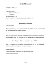 Chemistry Chapter 8 Lecture 2