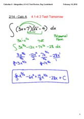 Integration,_4.1-4.3_Test_Review,_Day_2