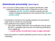 5 - Downstream Processing