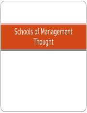 Schools of Management Thought.ppt