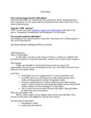 outline (essay3) - Essay 3 Outline Female Soldiers The role of ...