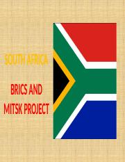 BUSN 412 WEEK 4 BRICS AND MITSK SOUTH AFRICA GEORGE