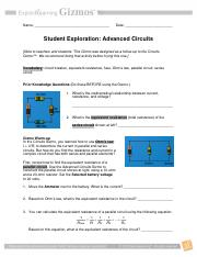 Advanced_Circuits_Experiment - Name Date Student ...