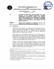overtime_JOINT CIRCULAR CSC-DBM NO. 1 S. 2015 DATED NOVEMBER 25, 2015