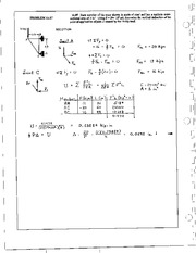 1375_Mechanics Homework Mechanics of Materials Solution