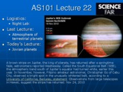 AS101 Lecture 22