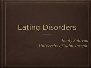 Eating Disorders Information