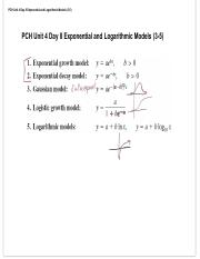 PCH Unit 4 Day 8 Exponential and Logarithmic Models.pdf