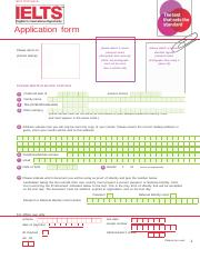 (253732308) IELTS Application Form