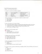 Chapter 11 worksheet with answers
