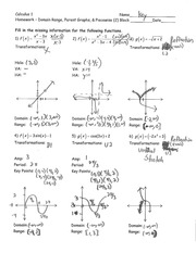Rational Functions and Piecewise Notes-answer key - Determine The domain of \u201cthe following functions Draw a sketch of \u201cthe graph 2.y\u003d\u2014l\u2014 6 2