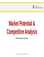 Module 6.2 Marketing Potential & Competitive Analysis.pptx