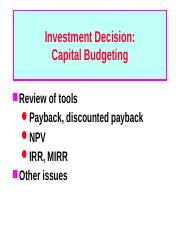 2. Capital Budgeting.ppt