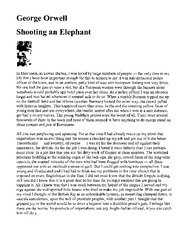 Shooting%20an%20Elephant