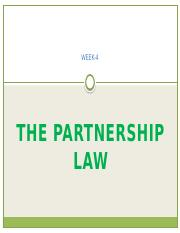 4) PARTNERSHIP LAW.pptx