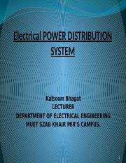 L#2 Electrical dist system