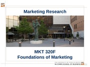 MKTG 9 - Market Research - Key Slides - 320F