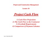 PCM-Lecture36-Project-Cash-Flow