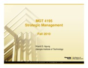 strategic mgt 1