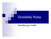 divisibility_rules
