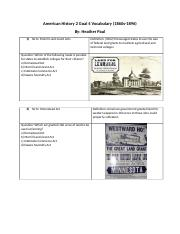 American History 2 Goal 4 Vocabulary.docx