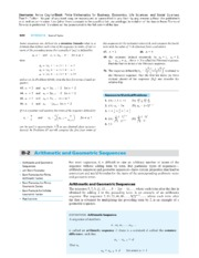 1-3 Arithmetic and Geometric Sequences