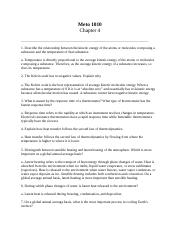 Chapter 5 Assignment