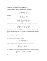8 - Integration by parts