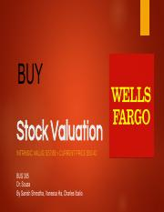 Stock Evaluation