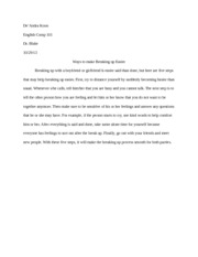 Process paragraph for English