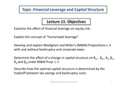 FINS1613S2Yr2013Wk11CapStructure
