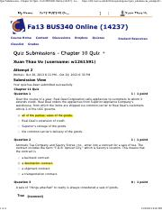 Quiz Submissions - Chapter 10 Quiz2 - Fa13 BUS340 Online (14237) - Fixed.pdf