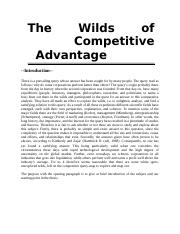 The Wilds-of-Competitive-Advantage