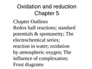 Oxidation and reduction-ch5 chem221 HN-fall2014