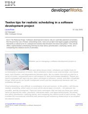 12 tips for realistic scheduling in a software development project.pdf