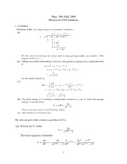 phys 369 09 hw 10 Solutions