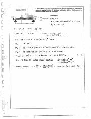 strength of materials 7.1 solutions to answers