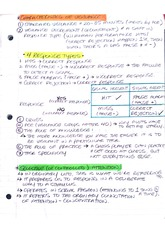 Lecture Notes on Vigilance
