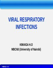 34. VIRAL RESPIRATORY INFECTIONS -INFLUENZA.pptx