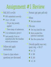 assingment 1
