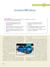 Chapter 17 International HRM Challenge