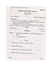 (www.entrance-exam.net)-Andhra Pradesh SSC Exam- Social Studies Paper-II Sample Paper 9