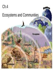 ch4 ecosystems and communities.ppt